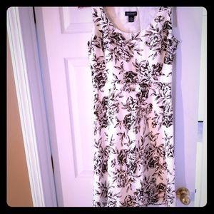 Anne Taylor Factory Floral Dress Size 6